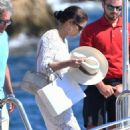 Catherine Zeta Jones on holiday in France - 454 x 743