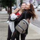 Alexis Ren and Maddie Ziegler – Leaving the Dancing with the Stars Studios in LA