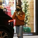 Lily Collins – Shopping candids at Tailwaggers in West Hollywood