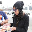 Natalie Cole seen at LAX. January 20,2015