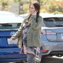 Jennifer Love Hewitt Grocery Shopping In Pacific Palisades