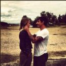 Anthony Kiedis and Lara Bingle