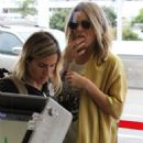 LeAnn Rimes at LAX airport in Los Angeles - 454 x 681