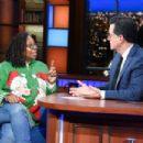 Whoopi Goldberg on The Late Show With Stephen Colbert in NYC
