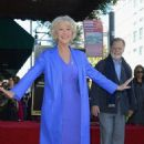 Helen Mirren: receiving her star on the Hollywood Walk of Fame