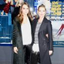 Cara Delevingne Printemps Christmas Decorations Inauguration In Paris