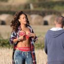 Rihanna's Irish Music Video Shoot