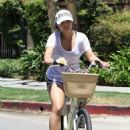 Short-Haired Vanessa Hudgens: Cyclin' with Stella