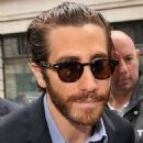 "Jake Gyllenhaal promoting ""Prisoners' at BBC Radio 2 studios in London (September 23)"