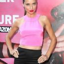 Adriana Lima Wows in pink dress at Escape the Urban Jungle - 2013