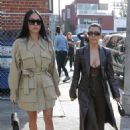 Kourtney Kardashian – Leaves lunch with a friend in Venice
