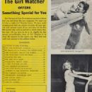 Joan Bradshaw - Girl Watcher Magazine Pictorial [United States] (June 1959) - 454 x 606