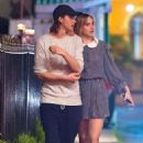 Suki Waterhouse and her brother Charlie out in Barbados December 29, 2016