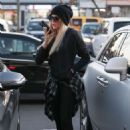 Khloe Kardashian in Tights at PetSmart store in Woodland Hills
