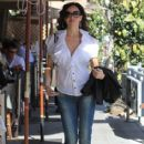 Sofia Milos Grabs Lunch in Beverly Hills - 414 x 600