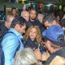 Shakira at Guarulhos International Airport 10/20/2018