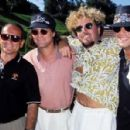 Edward Van Halen with Sammy Hagar and Bret Michaels