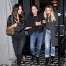 Ashley Benson and Shay Mitchell at Craigs Restaurant in West Hollywood - 454 x 552