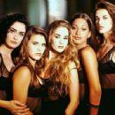 Sex Appeal - Cláudia Rangel, Carolina Dieckmann, Danielle Winits, Camila Pitanga and Luana Piovani (1993). - 454 x 341