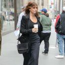 Gina Gershon – Leaving SiriusXM studios in New York - 454 x 681