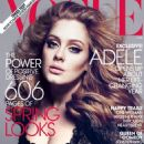 Adele Adkins Vogue US March 2012