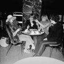 Marianne Faithfull,Brian Jones and Anita Pallenberg