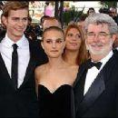 Natalie Portman and Hayden Christensen