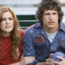 Isla Fisher play as Denise and Andy Samberg play as Rod Kimble in Akiva Schaffer's Hot Rod. Credits by James Dittiger. (C) 2006 Paramount Pictures. All rights reserved.
