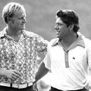 Jack with Lee Trevino 1971