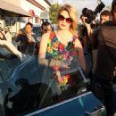 Mischa Barton leaving a salon in Hollywood, November 6, 2010