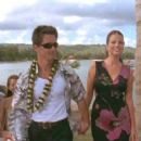 Yasmine Bleeth and Billy Warlock  in Twentieth Century Fox's action movie Baywatch: Hawaiian Wedding - 2003