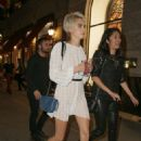 Cara Delevingne – Arriving to her sister's Birthday party in NY