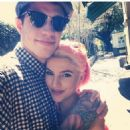 Pete Davidson and Carly Aquilino