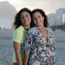 Daniela Mercury and Malu Verçosa