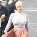 Amber Rose at the 'Dancing With The Stars' studios for taping in Hollywood, California - September 12, 2016 - 451 x 600