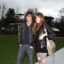 Lou with friend Sebastian Andrieu