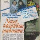 Barbra Streisand - Me Naiset Magazine Pictorial [Finland] (3 April 1984)
