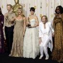 Anjelica Huston, Tilda Swinton, Goldie Hawn, Penelope Cruz, Eva Marie Saint and Whoopi Goldberg - The 81st Annual Academy Awards - Press Room, Hollywood, February 22