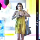 Vanessa Hudgens in Mini Dress Out in Los Angeles - 454 x 681