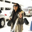 Nicole Scherzinger Arriving in Dallas Feb-4-2011