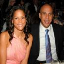 Veronica Webb and Cory Booker - 454 x 330