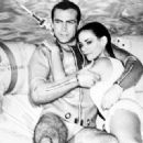 Sean Connery and Claudine Auger - 454 x 329
