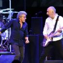 Roger Daltrey & Pete Townshend perform  on the first night of the band's residency at The Colosseum at Caesars Palace on July 29, 2017 in Las Vegas, Nevada - 454 x 345