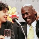 Michael Jordan and Juanita Vanoy
