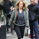Jennifer Lopez – Leaves the 'Second Act' set in New York