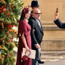Demi Moore – Wedding of Princess Eugenie of York to Jack Brooksbank in Windsor - 454 x 610