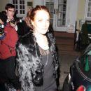 Lindsay Lohan Leaving The Beatrice Inn In New York City 2008-03-06