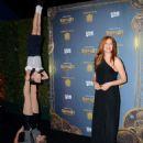 Rachelle Lefevre Opening Night Of Cirque Du Soleils Kurios Cabinet Of Curiosities In La