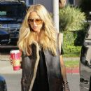Rachel Zoe Street Style Out and About In Los Angeles