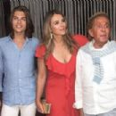 Elizabeth Hurley – Night out at Island Athens Riviera in Athens - 454 x 303